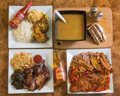 Jamaica finga licking  kitchen