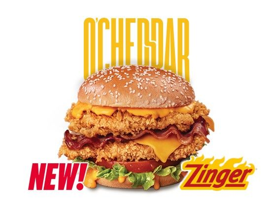 O Cheddar Double Zinger