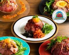 極上ローストビーフ丼「Meat Fall」 神戸三宮