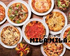 たっぷりチーズのミラノ風ピッツァ ミラミラ MILA MILA