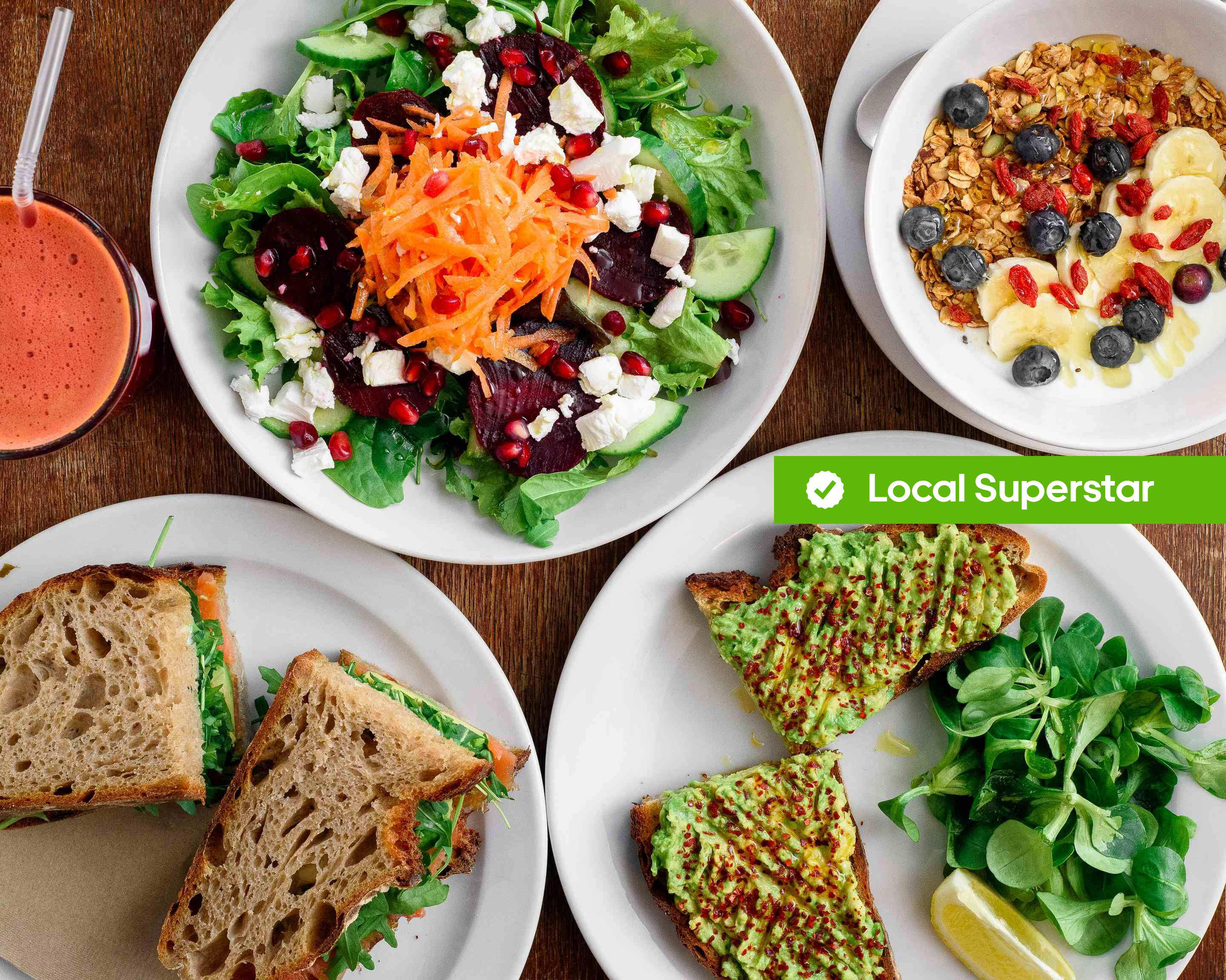 Healthy Stuff Delivery London Uber Eats