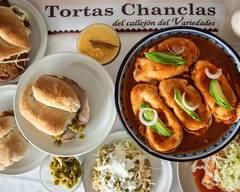 Tortas Chanclas del Callejón del Variedades (El Carmen)