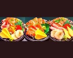 【当日豊洲直仕入れ】 新鮮な刺身丼ぶり JIN-仁-