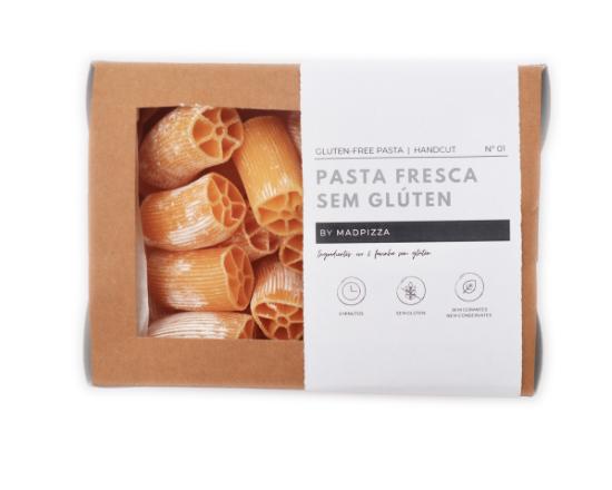Pasta Fresca Paccheri 250 gr - Sem Glúten