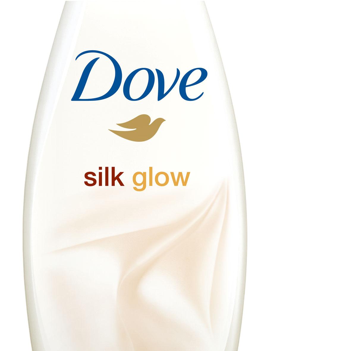 Gel de Banho Silk Dove 500ml