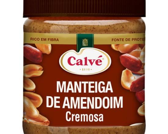 Calvé Manteiga de Amendoim Cremosa 210g
