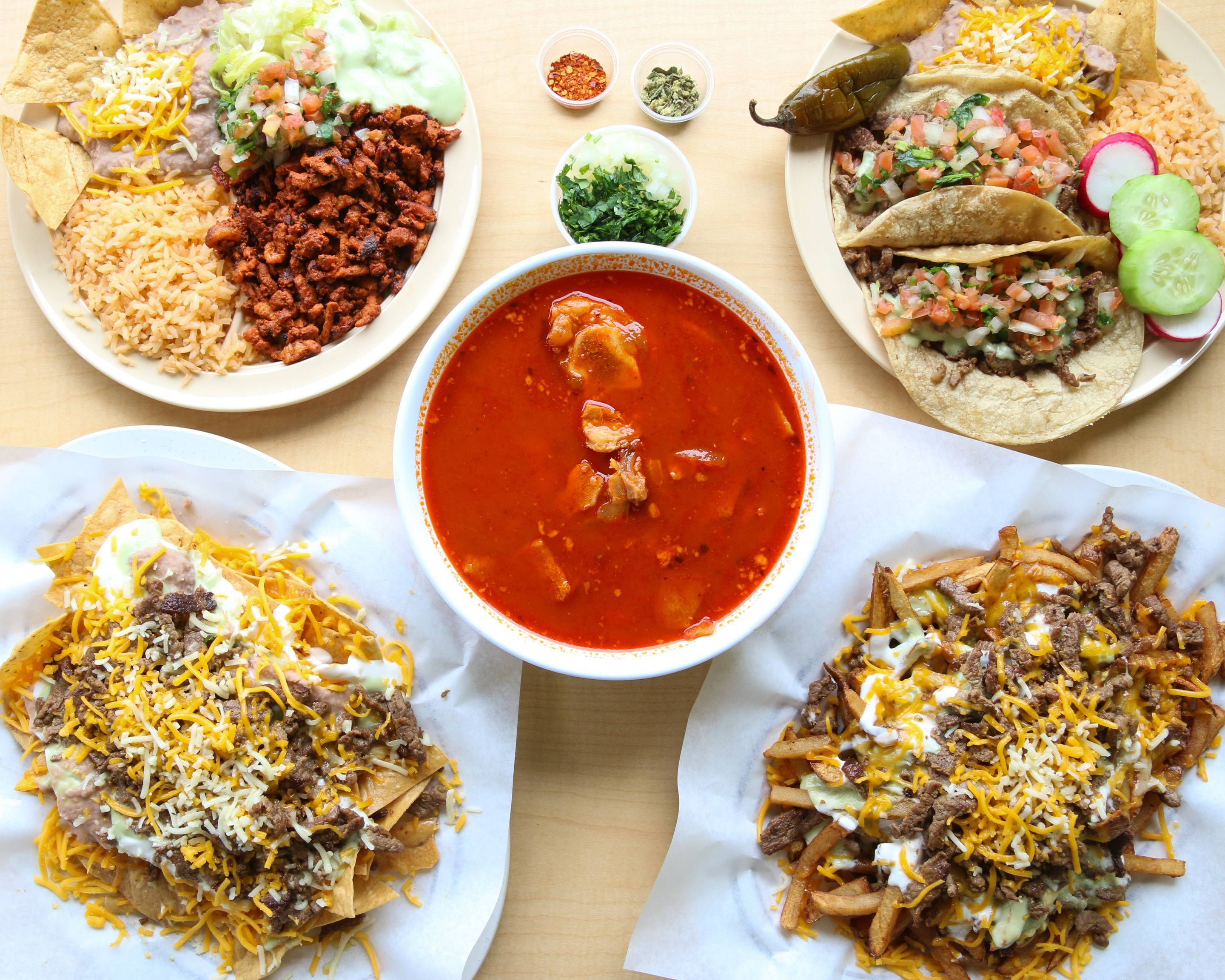 Castaneda S Mexican Food Palm Springs 451 S Paseo