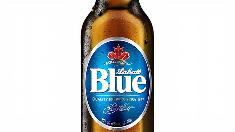 Labatt Blue, 340mL bottled beer (5.0% ABV)
