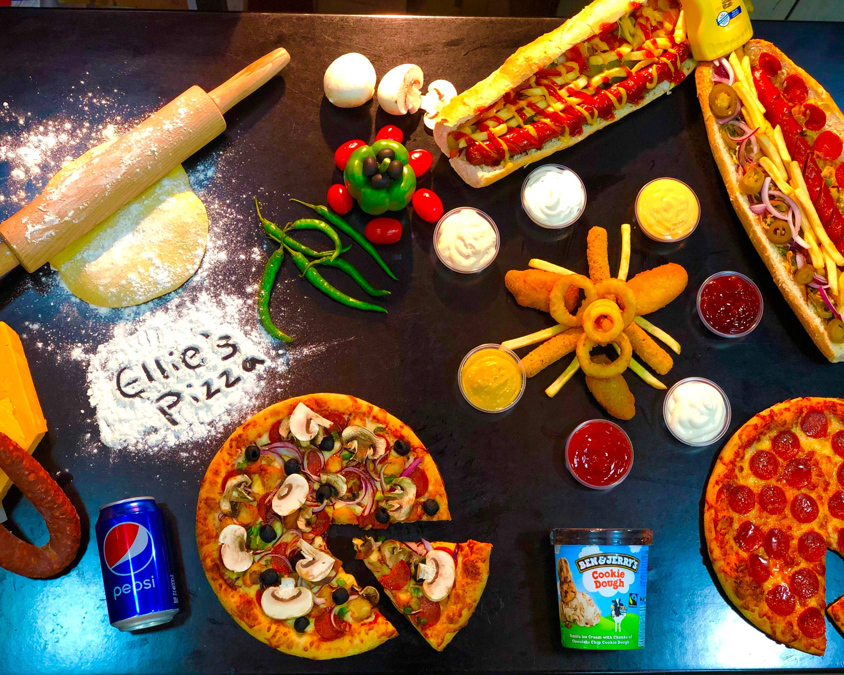Ellies Pizza Delivery Manchester Uber Eats