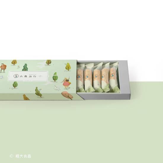 海苔肉鬆蛋捲 12 入典雅禮盒 Seaweed Pork Floss Egg Roll 12 Piece Gift Box