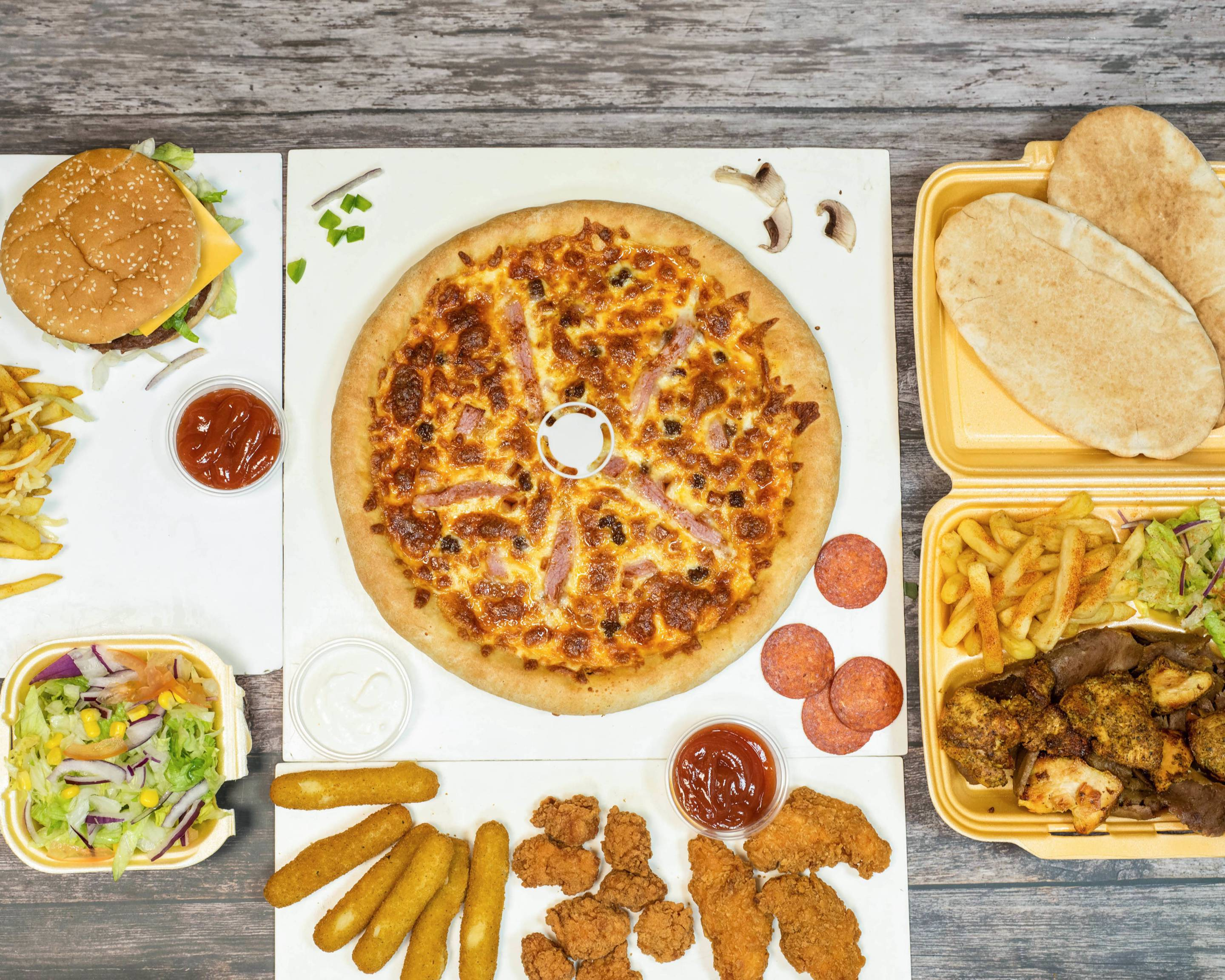 Pizza Zone Delivery Sheffield Uber Eats