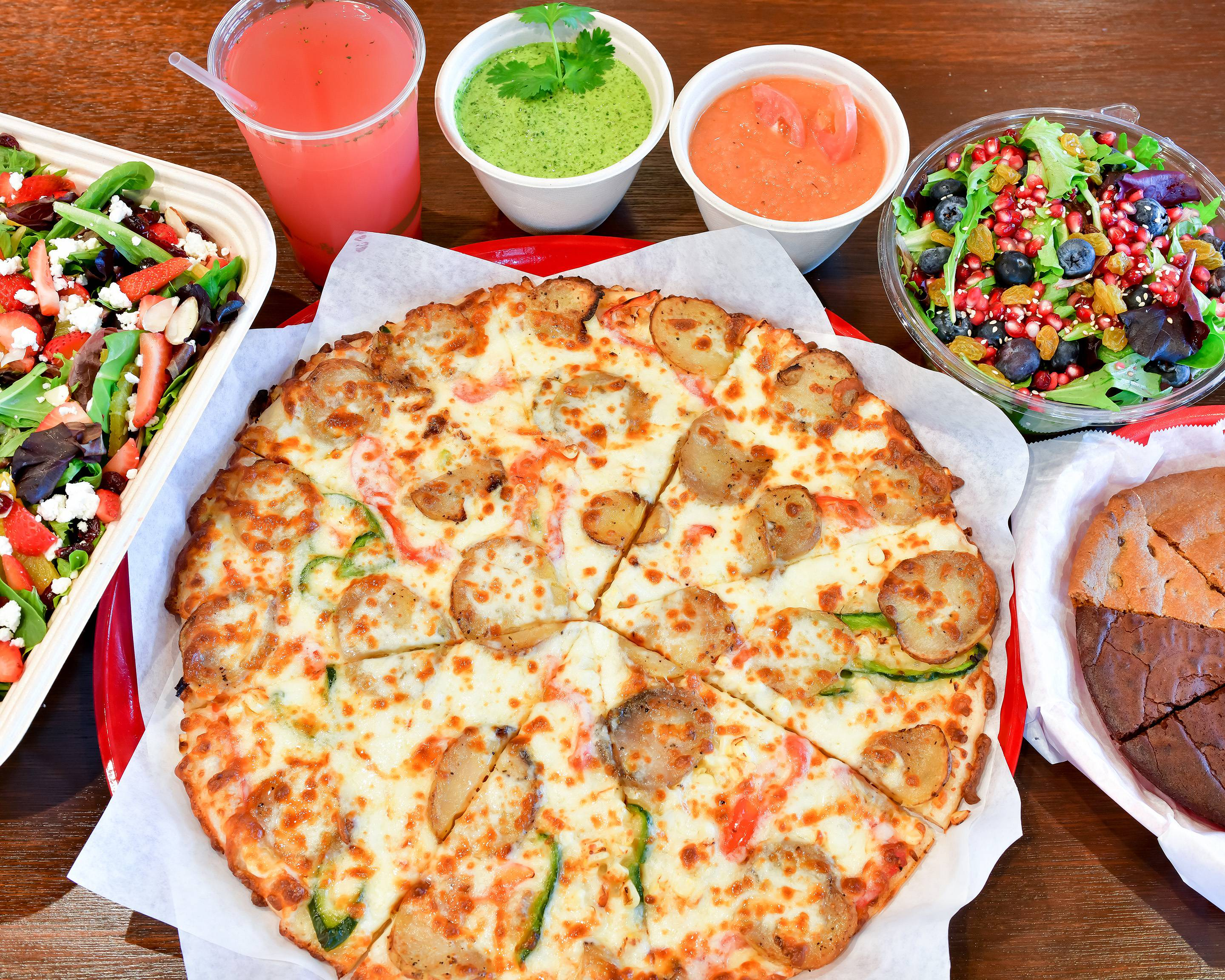 Order Sliver Pizzeria Telegraph Delivery Online San Francisco Bay Area Menu Prices Uber Eats Fresh roma tomato, red onions, mozzarella and bulgarian feta cheese, lemon juice, lemon zest and garlic olive oil. sliver pizzeria telegraph delivery