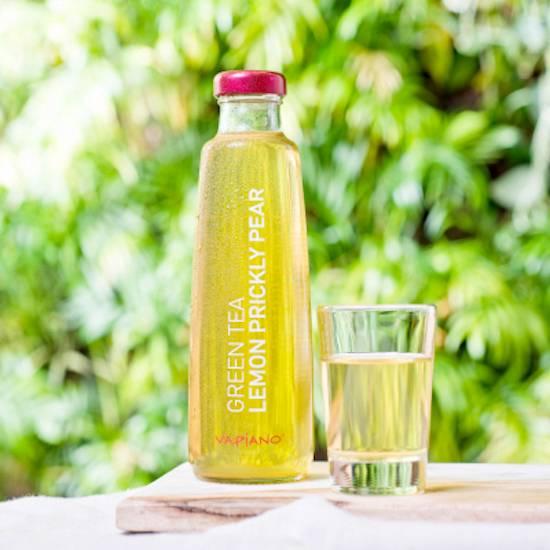 Vapiano ice tea lemon prickly pear