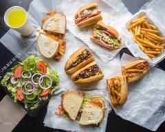 Nikos sandwich board
