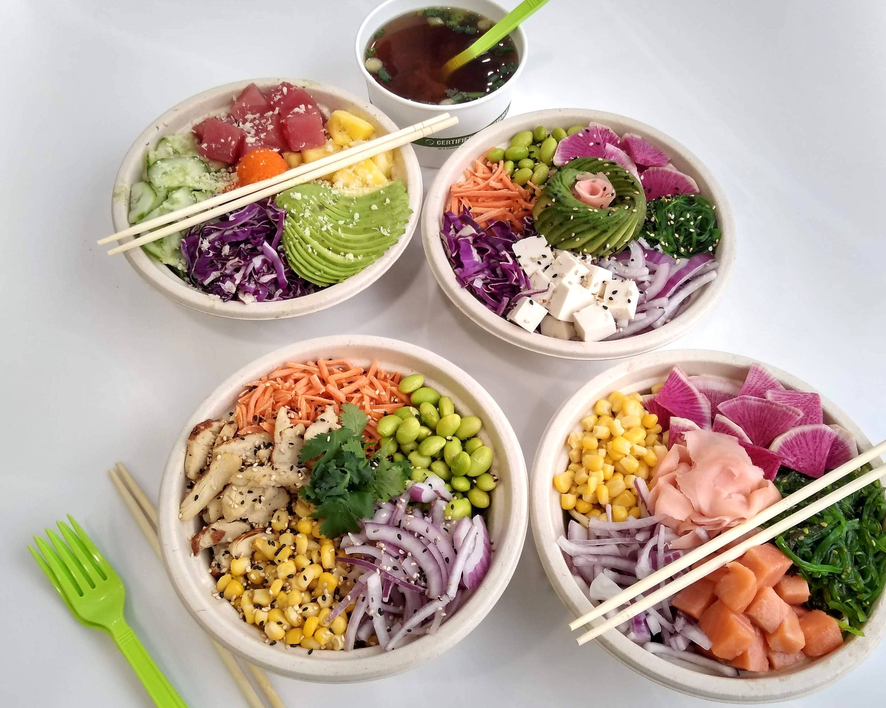 Poke Poke-Sushi Unrolled (312 S State St) Delivery | Ann
